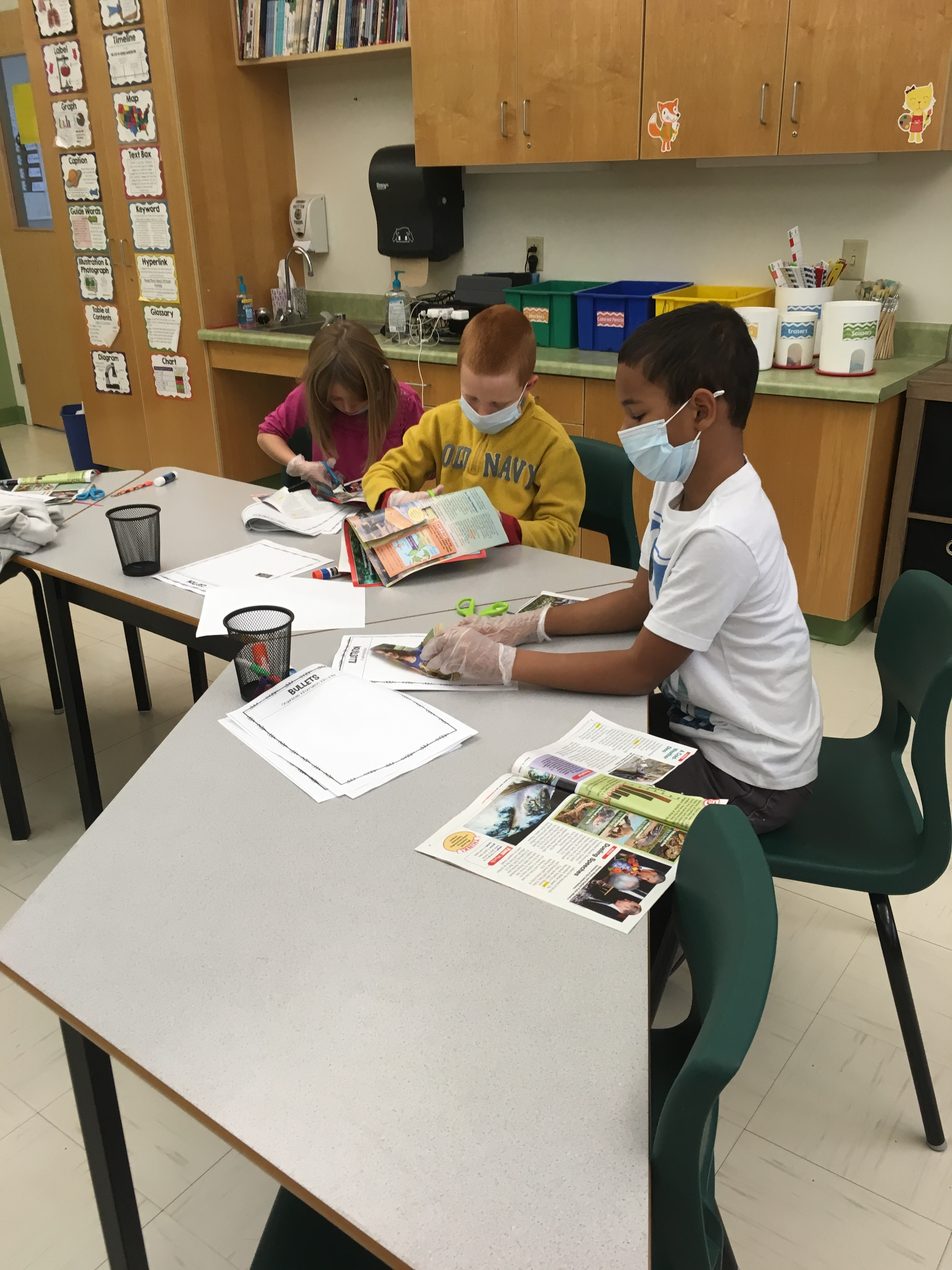 RVCS (@AOS94ME) 3rd Graders Perform Text Feature Surgery (3)